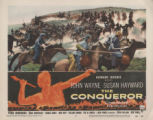 Lobby card, THE CONQUEROR, 1956