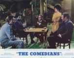Lobby card, THE COMEDIANS, 1967
